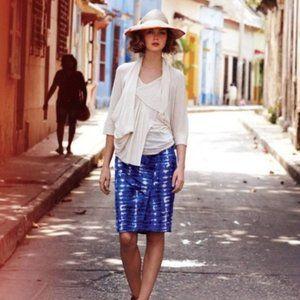 ANTHROPOLOGIE Eva Franco Araca tie dyed skirt 4